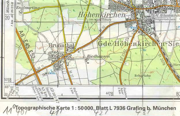 utm karte Grids: Von Projektionen zu Karten  utm karte