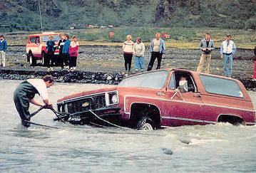 """The Art of Driving"" in isländischen Furten ... <img src=""images/smilies/laugh.gif"" border=""0"" alt=""lachend"" width=""15"" height=""15"" />"