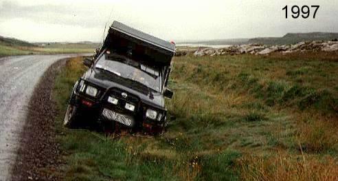 Schöner Rutschen bei Island 97 ...